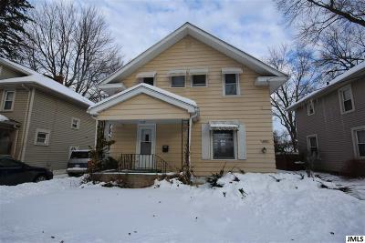 Jackson MI Single Family Home For Sale: $86,500