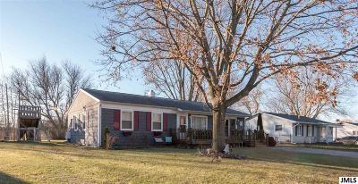 Jackson MI Single Family Home For Sale: $98,900