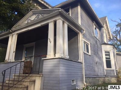 Jackson MI Single Family Home For Sale: $5,900