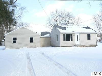 Single Family Home For Sale: 520 E Bellevue