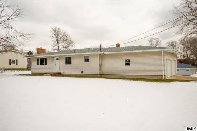 Jackson MI Single Family Home For Sale: $134,900