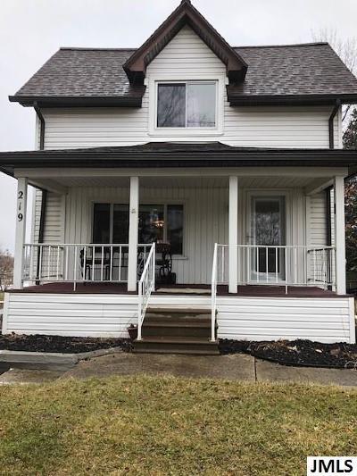 Jackson MI Single Family Home For Sale: $109,900