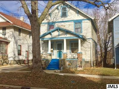 Jackson Single Family Home For Sale: 134 Moore St