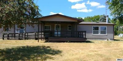 Grass Lake MI Single Family Home For Sale: $219,900