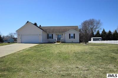 Jackson Single Family Home For Sale: 4108 Timmerman Hill