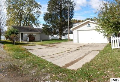 Michigan Center MI Single Family Home For Sale: $199,900