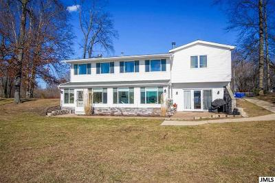 Brooklyn MI Single Family Home For Sale: $389,000