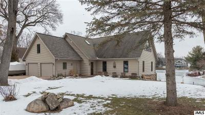 Jerome MI Single Family Home For Sale: $475,000