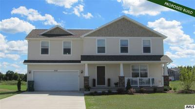Single Family Home For Sale: 2845 Tall Grass