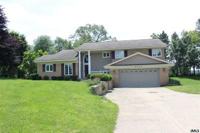 Clarklake Single Family Home For Sale: 8262 S Jackson Rd