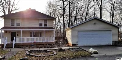 Brooklyn MI Single Family Home For Sale: $224,900