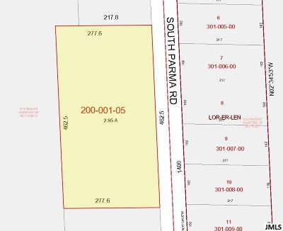 Parma MI Residential Lots & Land For Sale: $49,000