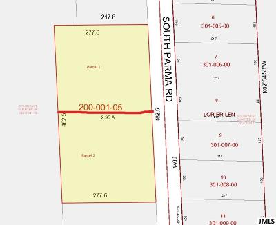 Parma MI Residential Lots & Land For Sale: $28,000