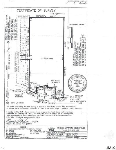 Jackson MI Residential Lots & Land For Sale: $159,000