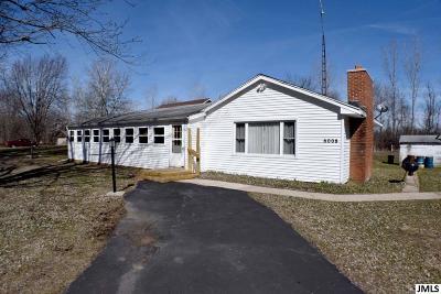 Single Family Home For Sale: 6008 Jordan Rd