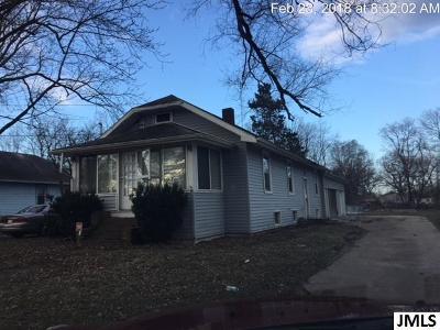 Jackson MI Single Family Home For Sale: $32,000