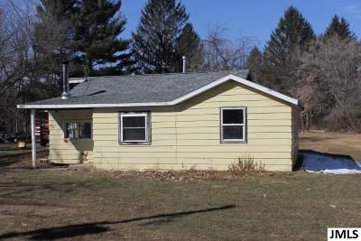 Jackson MI Single Family Home For Sale: $44,000