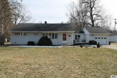 Jackson MI Single Family Home Contingent - Financing: $125,000
