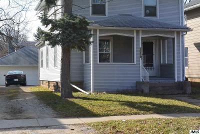 Jackson Single Family Home For Sale: 1036 Woodbridge St