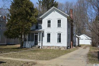 Concord MI Single Family Home For Sale: $40,000