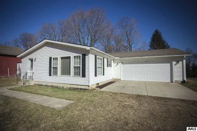 Manitou Beach MI Single Family Home For Sale: $114,000