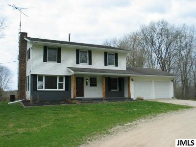 Single Family Home For Sale: 651 E Fitchburg Rd