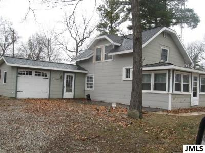 Jackson MI Single Family Home For Sale: $139,900