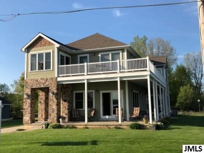 Springport Single Family Home Contingent - Financing: 568 North Shore Dr