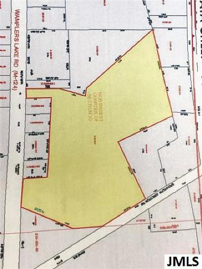 Jackson County Commercial Lots & Land For Sale: V/L Wamplers Lake Rd