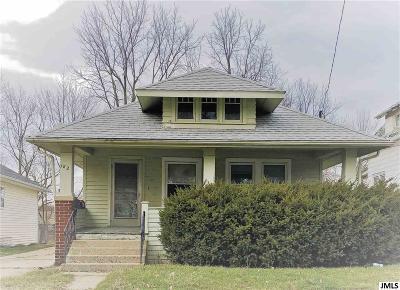 Jackson Single Family Home Contingent: 182 W Euclid Ave