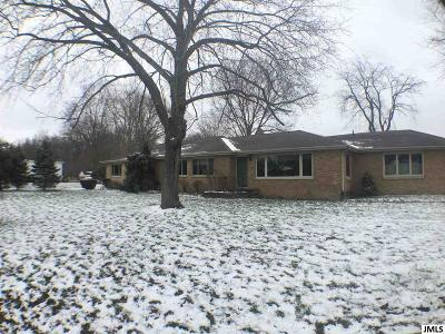 Jackson MI Single Family Home For Sale: $195,000