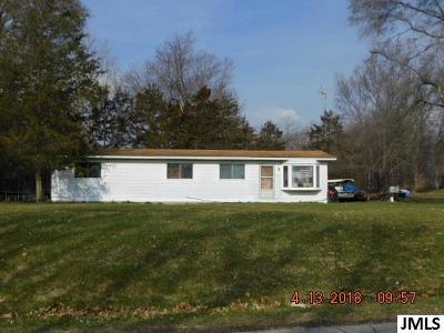 Jackson MI Single Family Home For Sale: $37,900