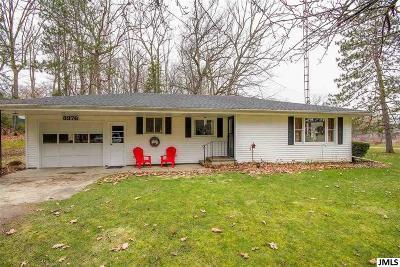 Hillsdale MI Single Family Home For Sale: $115,000