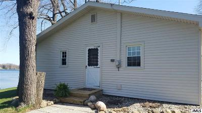 Jerome MI Single Family Home For Sale: $159,900