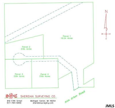Jackson Residential Lots & Land For Sale: 4100-3 Ann Arbor Rd