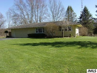 Horton Single Family Home For Sale: 5191 Farwell Lake Rd