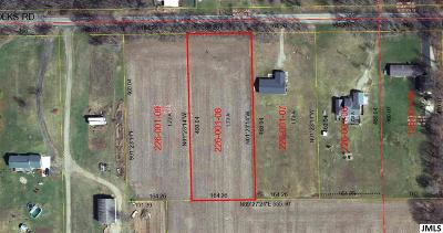 Jackson County Residential Lots & Land For Sale: Parcel D Folks Rd