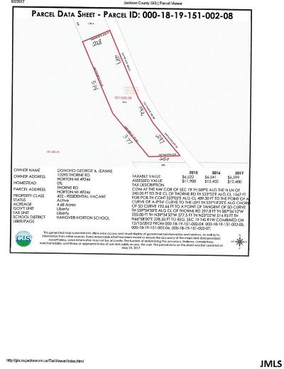 Jackson County Residential Lots & Land For Sale: V/L Thorne Rd