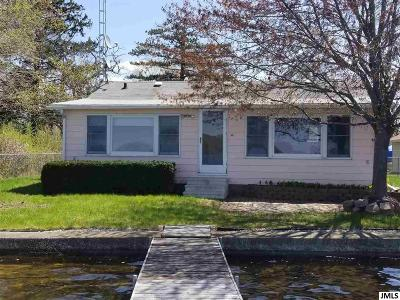 Grass Lake Single Family Home Contingent: 6167 Wolf Lake Rd
