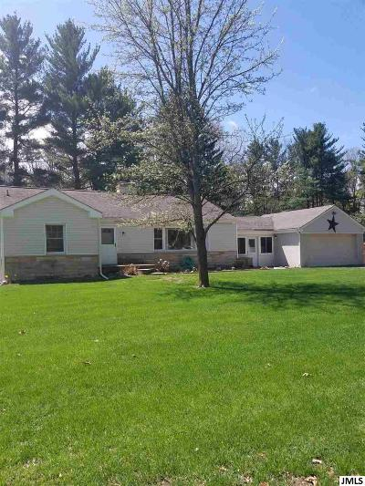 Jackson MI Single Family Home Contingent - Financing: $159,900