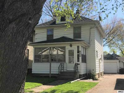 Single Family Home Contingent - Financing: 419 N Pleasant St