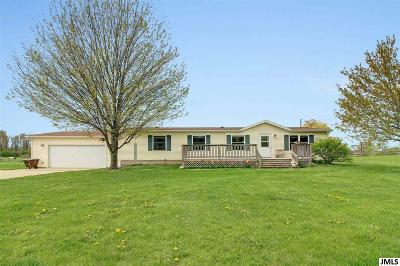 Horton MI Single Family Home For Sale: $234,900