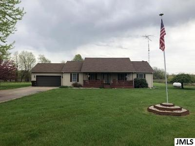 Hanover Single Family Home For Sale: 6659 Buckman Rd