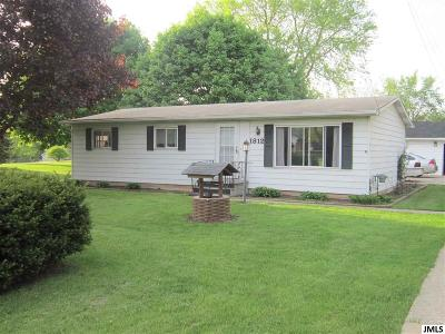 Jackson MI Single Family Home For Sale: $99,900