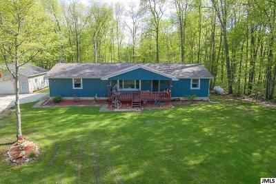 Dansville Single Family Home For Sale: 2443 Murray Rd