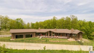 Single Family Home For Sale: 8997 Pleasant Lake Rd
