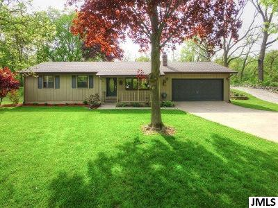 Spring Arbor Single Family Home Contingent - Financing: 2800 S Dearing Rd