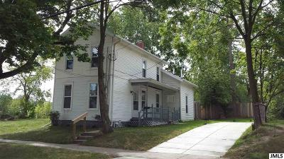 Jackson Single Family Home For Sale: 231 W Biddle