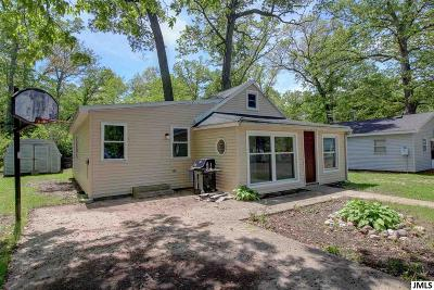 Brooklyn MI Single Family Home For Sale: $89,900