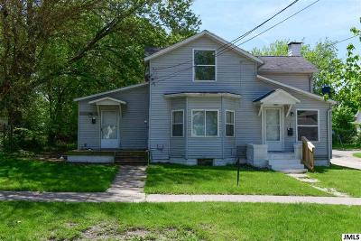 Jackson MI Multi Family Home Contingent - Financing: $54,900